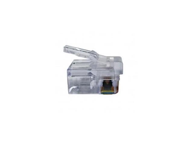 Platinum Tools 100026B EZ-RJ12/11 Connectors (100 Pack)