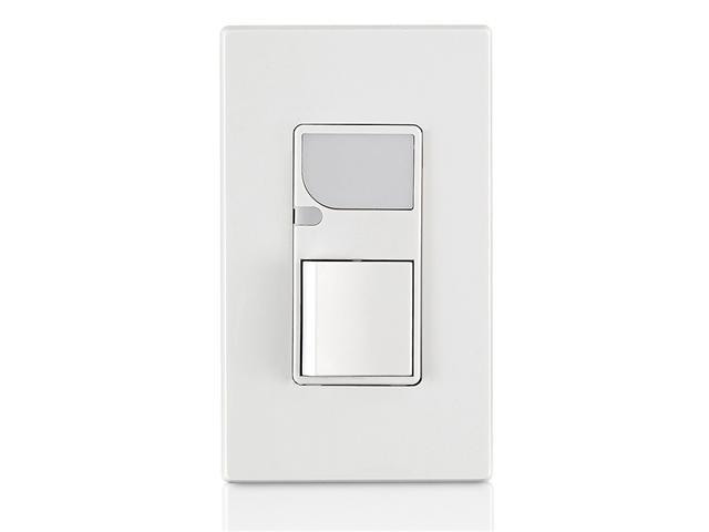Leviton 6526-W Combination Decora Switch and Light, White
