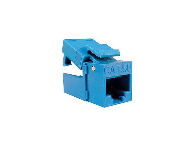 Platinum Tools 705BL-1 EZ-SnapJack Cat.5e Connector - Blue