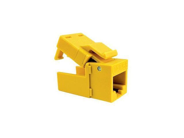 Platinum Tools 705YL-1 EZ-SnapJack Cat.5e Connector - Yellow
