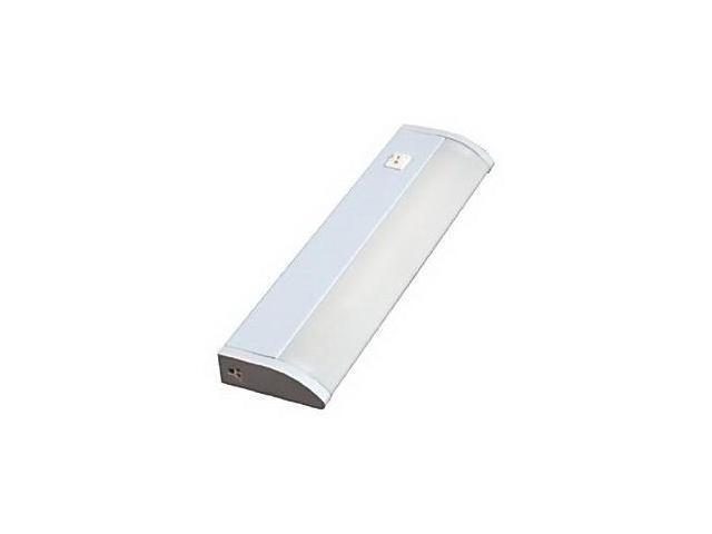 GE 16688 13-Inch Plug-in Premium Linkable Fluorescent Under Cabinet Fixture, Whi