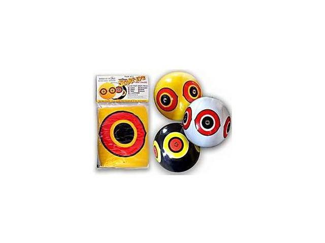 Bird-X SE-PACK Scare Eyes Inflatable Animal Repellant - Yellow, White, Black (3