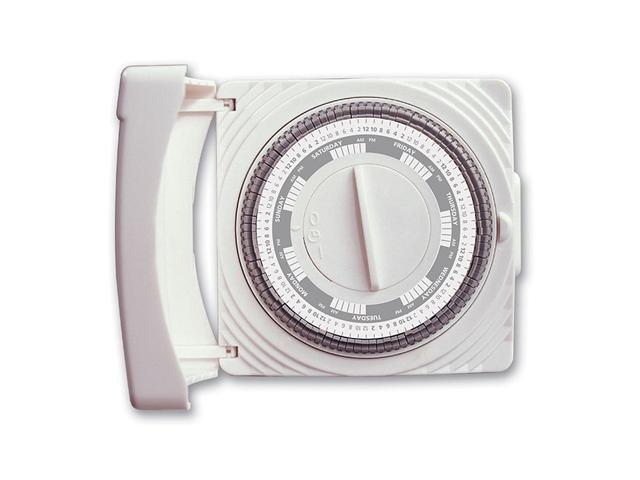 Westek TM07WHB Designer Series Indoor Weekly Segment Timer, White