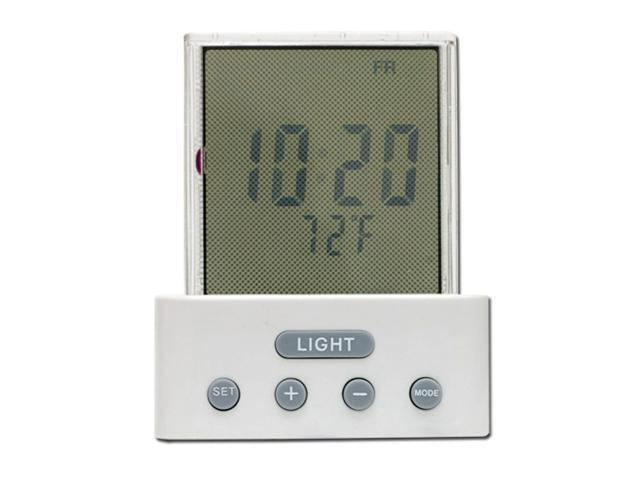 GE 11152 Time and Temperature LCD Night Light
