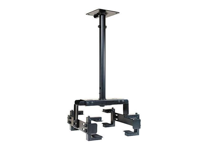 Video Mount Products PM-2 Small Clamping Universal Projector Ceiling Mount - Bla