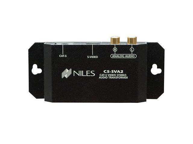 Niles C5-SVA2 CAT-5 S-Video and Stereo Audio Balun