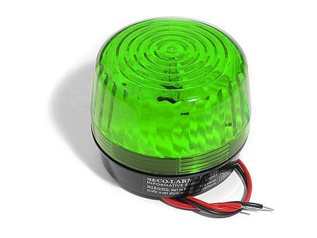 Seco-Larm SL-126Q/G Green Security Strobe Light