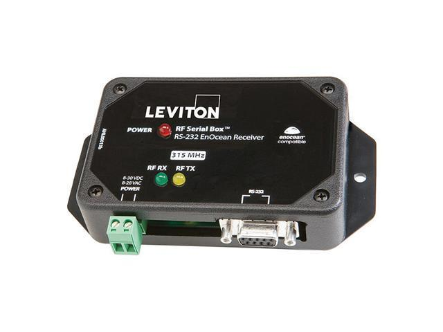Leviton WS0RF-300 LevNet RF RS-232 Serial Box Data Interface Interface
