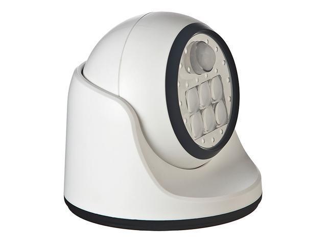 Fulcrum 20031-108 6 LED Wireless Motion Sensor Indoor/Outdoor Porch Light, White