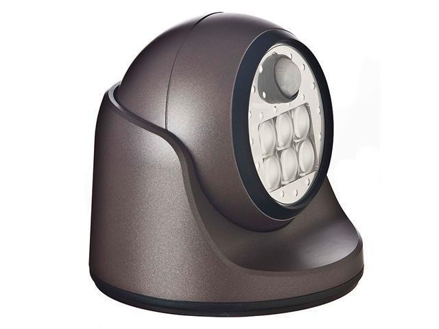 Fulcrum 20031-107 6 LED Wireless Motion Sensor Indoor/Outdoor Porch Light, Bronz