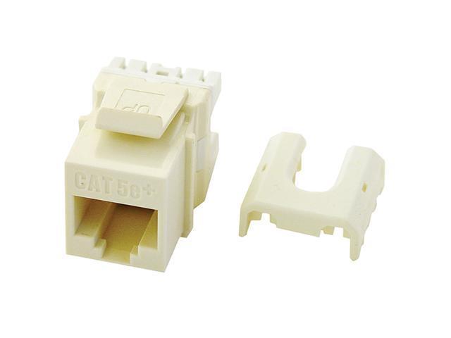 OnQ Legrand WP3475-IV RJ45 Cat5 Quick Connect Keystone, Ivory