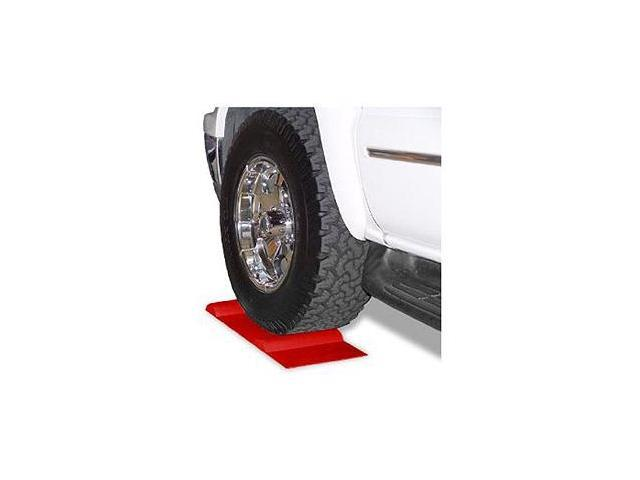 Park Right Vehicle Parking Mat and Sensor for the Garage, Red
