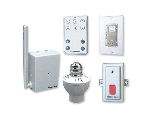 SkylinkHome SK-4 Wireless Remote Lighting, Garage Kit
