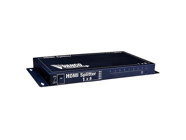Vanco 280708 1x8 HDMI Splitter with IR