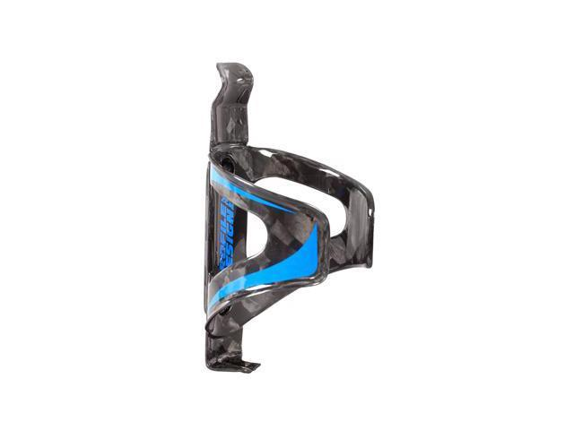 Profile Design Karbon Kage Bicycle Water Bottle Cage (Black/Blue)