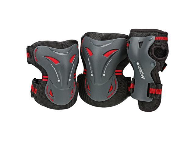 BoneShieldz Tarmac Tri Pack Protective Pads - Black - 5165 (Large)