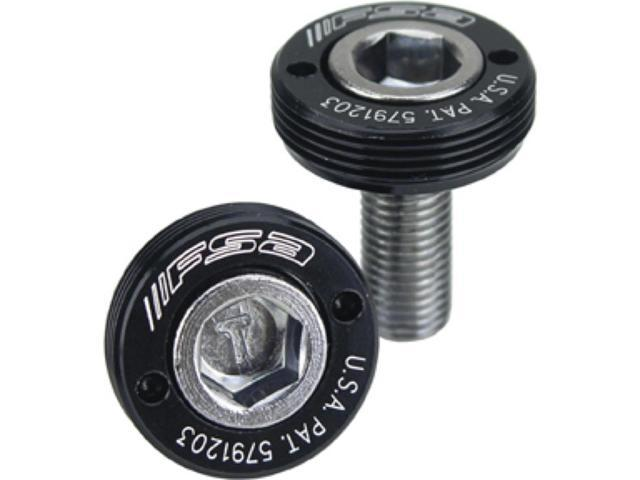 FSA Square Taper Self Extracting Bicycle Crankset Bolt - Pair - 390-2000