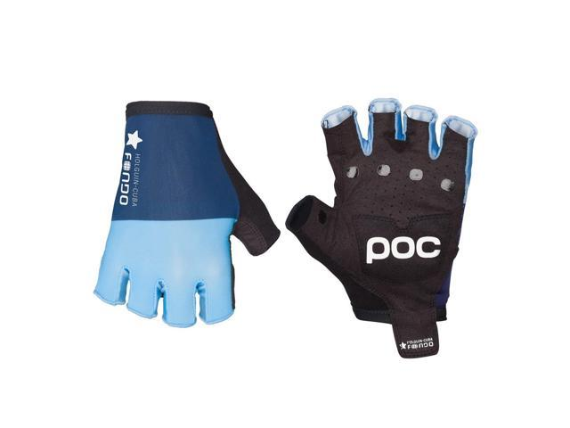 POC 2016 Fondo Short Finger Finger Cycling Gloves - 30350 (Seaborgium Multi Blue - M)