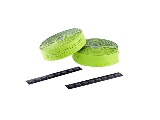 Ritchey WCS Gel Race Road Bicycle Handlebar Tape (Neon Yellow)