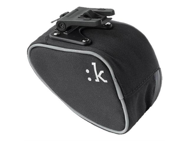 Fizik Kli:k Bicycle Saddle Bag w/Integrated Clip - Small (Anthracite)