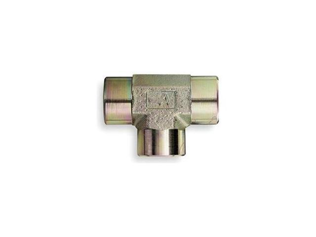Hose Adapter, Female NPT, NPT Tee