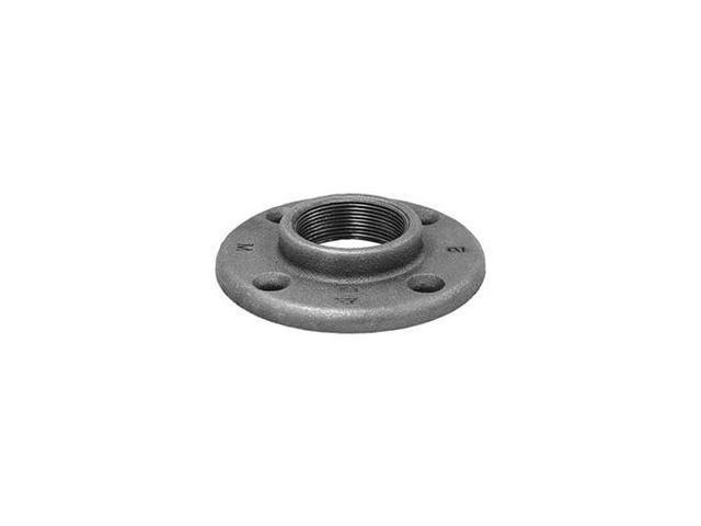 Anvil 1190 black ductile iron floor flange 1 2 for 1 black floor flange