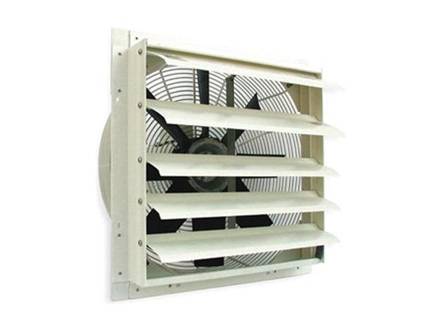 Exhaust Fan, 12 In, 115 V, 1100 CFM