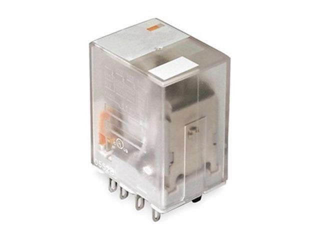 Relay, Ice Cube, 4PDT, 120VAC, Coil Volts