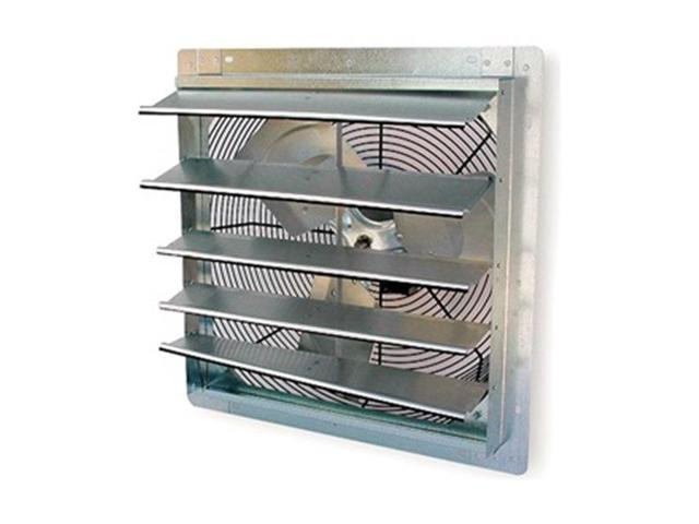 Exhaust Fan, 16 In, 115 V, Spd Controllable
