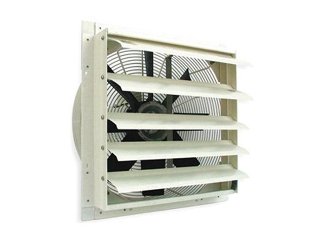 Exhaust Fan, 24 In, 115 V, 4876 CFM