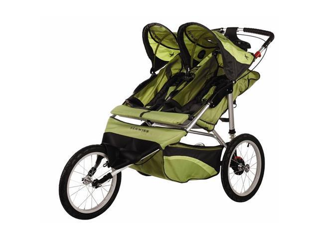 Schwinn Arrow Fixed Wheel Double Jogger