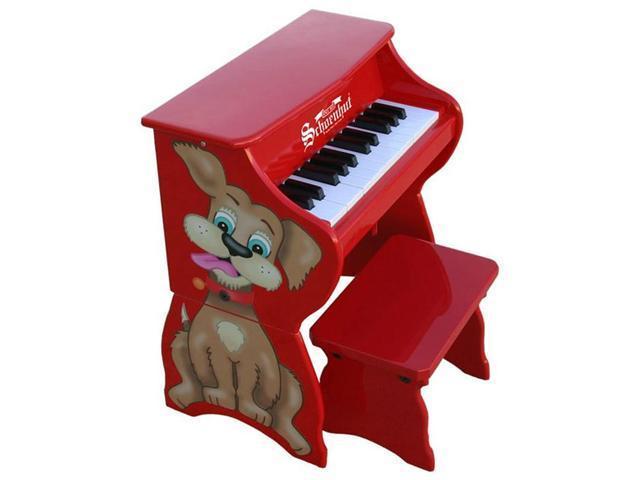 Schoenhut 25 Key Piano Pals Dog w/ Bench
