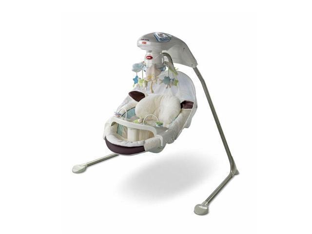 Fisher-Price Little Lamb Papasan Cradle Swing