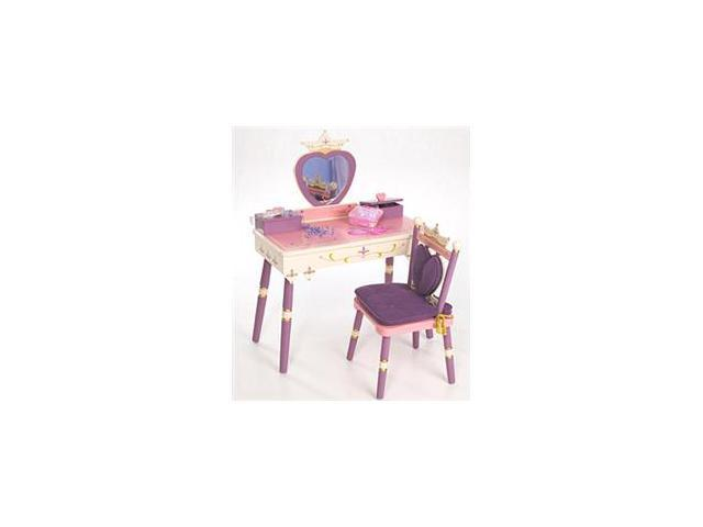 Levels Of Discovery-Princess Vanity Table & Chair set
