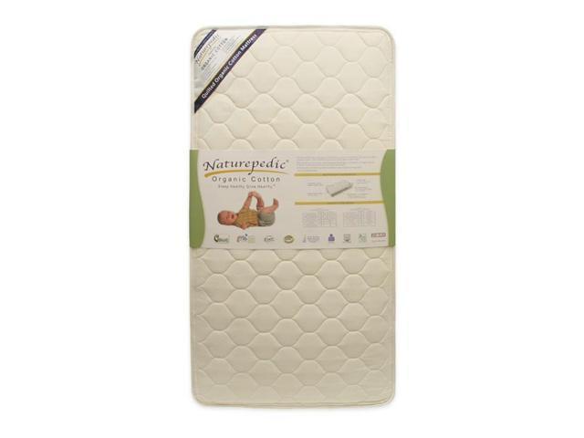 Naturepedic Organic Crib Mattress Quilted