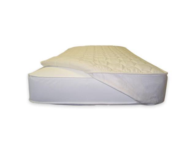Naturepedic Quilted Mattress Topper - Crib Fitted - PC93