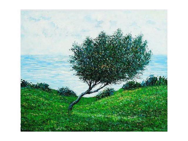 Monet Paintings: Sea Coast at Trouville - Hand Painted Canvas Art