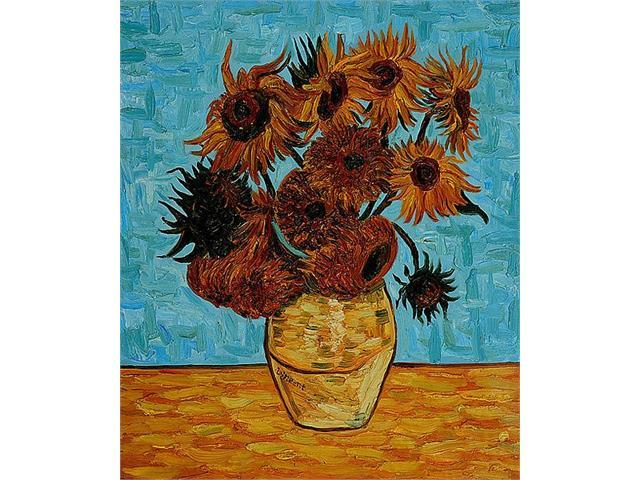 Van Gogh Paintings: Sunflowers - Hand Painted Canvas Art