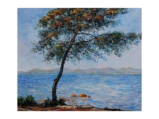 Monet Paintings: Cap d' Antibes - Hand Painted Canvas Art