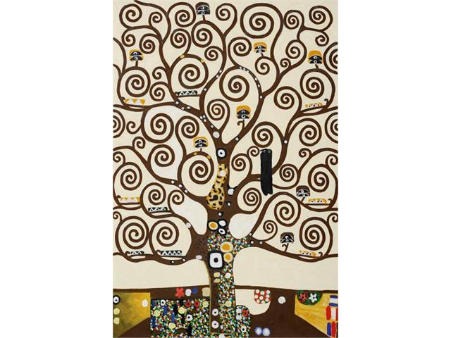Klimt Paintings: Tree of Life - Hand Painted Canvas Art