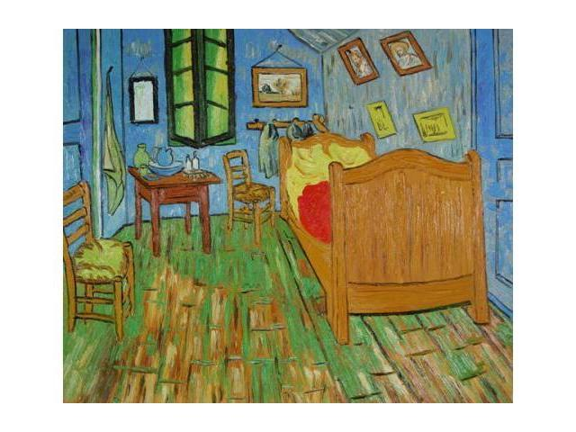 van gogh paintings bedroom at arles hand painted canvas art newegg