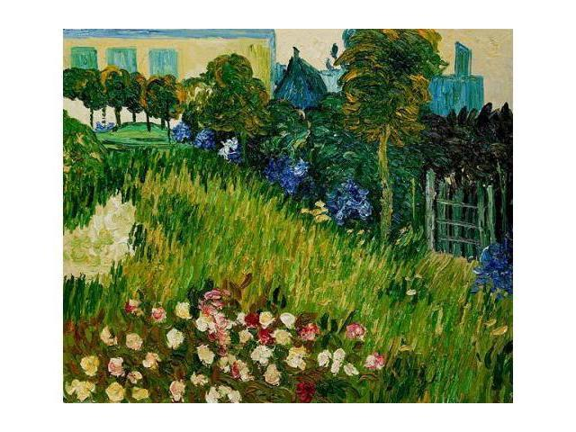 Van Gogh Paintings: The Garden of Daubigny - Hand Painted Canvas Art