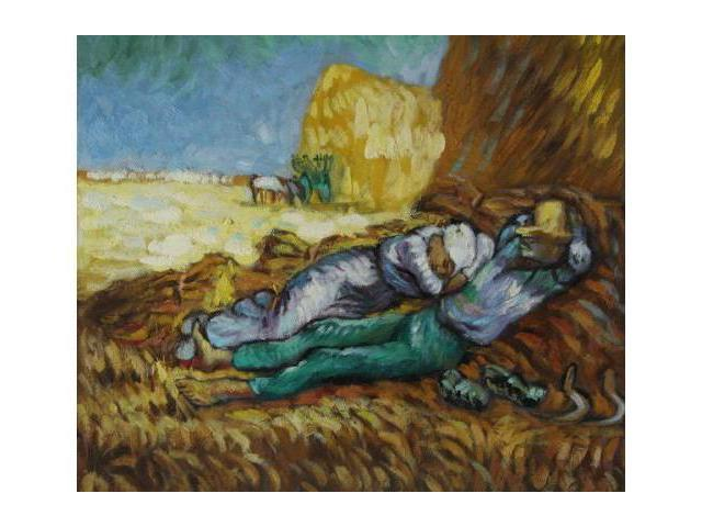 Van Gogh Paintings: Noon: Rest From Work - Hand Painted Canvas Art