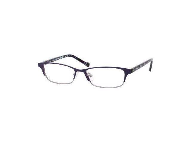 Marc by Marc Jacobs MMJ 504 Eyeglasses-In Color-Violet Ruthenium Striped Fuchsia-Size-52/15/130