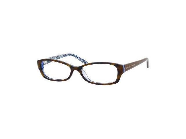 Kate Spade Sheba Eyeglass Frames : Kate Spade Sheba Eyeglasses-In Color-Tortoise Royal Blue ...