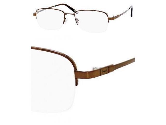 Fossil Trey Eyeglasses-In Color-Dark Brown-Size-52/19/140