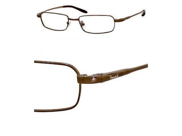 Fossil Evan Eyeglasses-In Color-Brown-Size-51/16/145
