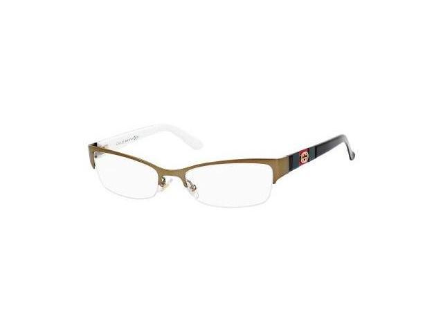 Gucci 4213 Eyeglasses-In Color-Brown Gold-Size-51/17/135