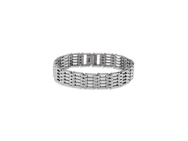 Mens Stainless Steel Modern Fashion Links Bracelet