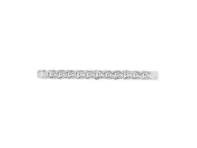 925 Sterling Silver 8.25mm Solid Cuban Chain Bracelet